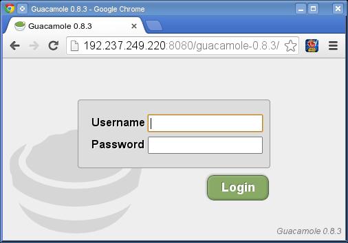 Guacamole - LinuxIntro