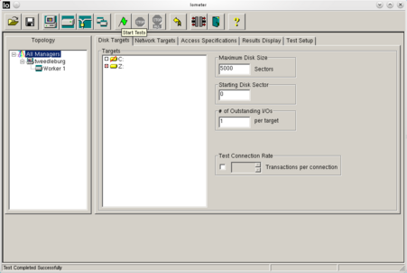Iometer - LinuxIntro